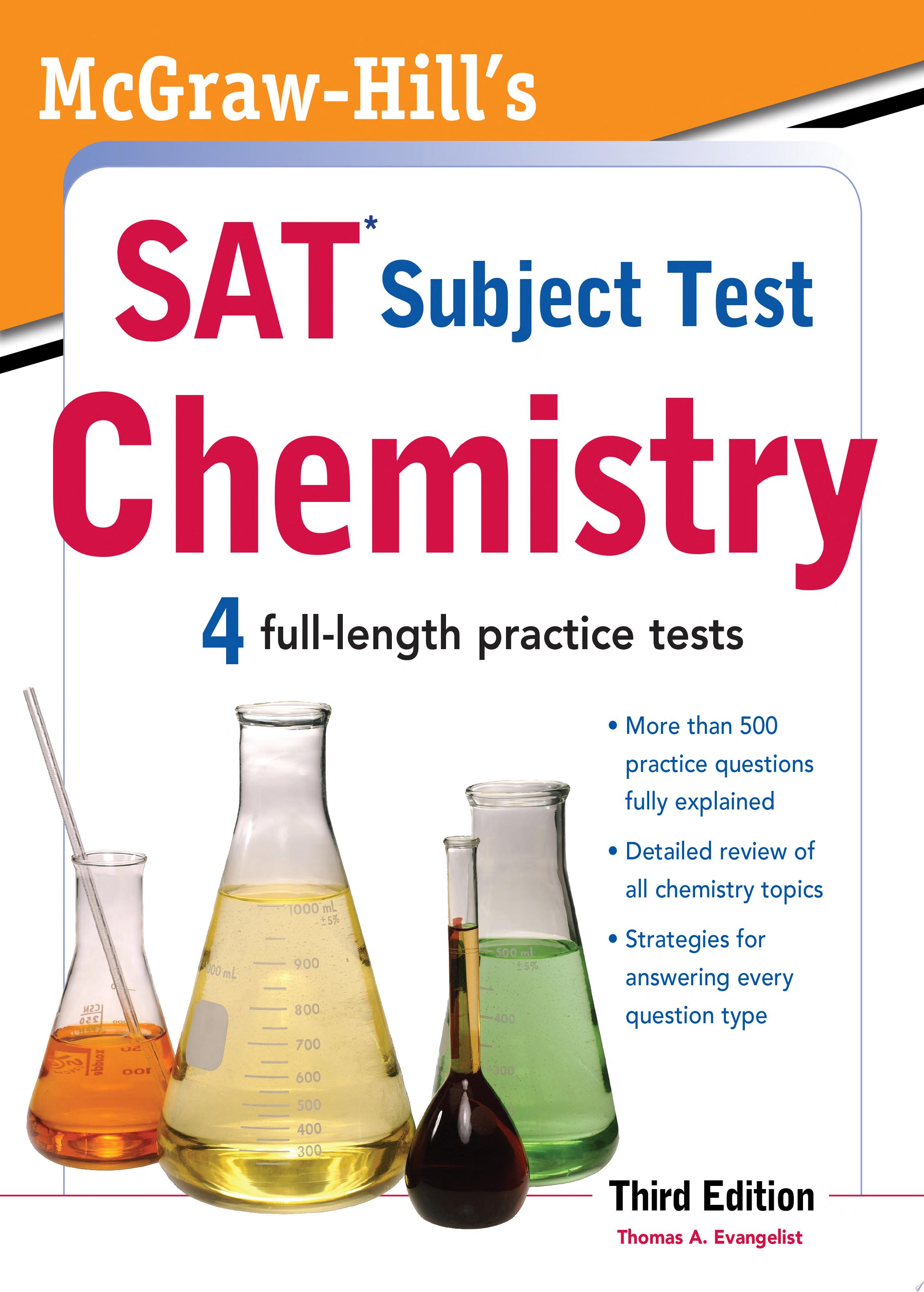 McGraw Hill s SAT Subject Test Chemistry  3rd Edition