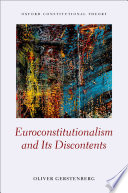 Euroconstitutionalism and Its Discontents Book PDF
