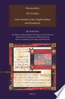 Maimonides    On Coitus Book