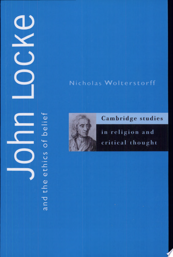 John Locke and the Ethics of Belief