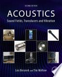 Acoustics  Sound Fields  Transducers and Vibration Book