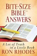 Bite-Size Bible® Answers