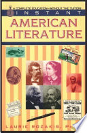 Instant American Literature Book PDF