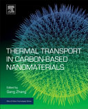 Thermal Transport in Carbon Based Nanomaterials