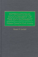 International Management of the Environment