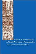 Factors of Soil Formation