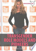 Transgender Role Models and Pioneers Book PDF