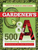 Gardener s Q and A