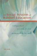 The Social Mission of Waldorf Education