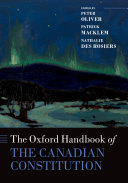 The Oxford Handbook of the Canadian Constitution Pdf/ePub eBook