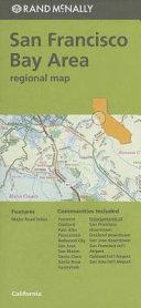 Folded Map San Fran Bay CA Regional