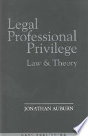 Legal Professional Privilege Book