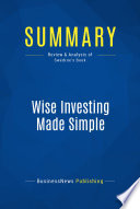 Summary  Wise Investing Made Simple