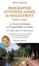 Pdf Biographie d'Yvonne-Aimée de Malestroit (1901-1951) Telecharger