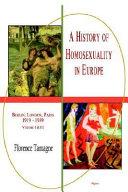 A History of Homosexuality in Europe, Vol. I & II Pdf/ePub eBook