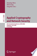 Applied Cryptography And Network Security Book PDF
