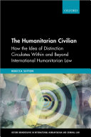 The Humanitarian Civilian [Pdf/ePub] eBook