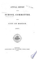 Annual Report of the School Committee of the City of Boston by Boston (Mass.). School Committee PDF