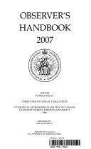 Observer s Handbook 2007