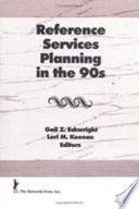 Reference Services Planning In The 90s