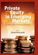 Private Equity in Emerging Markets Pdf/ePub eBook