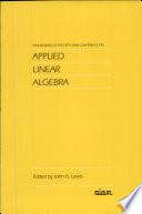 Applied Linear Algebra [Pdf/ePub] eBook