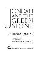 Pdf Jonoah and the Green Stone
