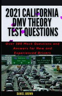2021 California DMV Theory Test Questions