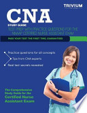 CNA Study Guide  : Test Prep with Practice Test Questions for the NNAAP Certified Nurse Assistant Exam
