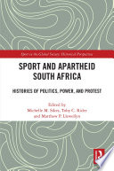 Sport and Apartheid South Africa