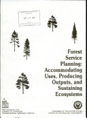 Forest Service Planning