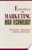 Essentials Of Marketing High Technology