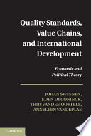 Quality Standards Value Chains And International Development