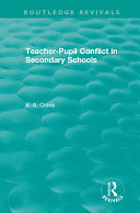 Teacher-Pupil Conflict in Secondary Schools (1987)