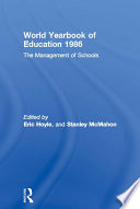 World Yearbook Of Education 1986
