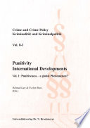 Punitivity International Developments. Vol 1