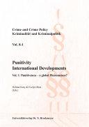 Punitivity International Developments. Vol 1