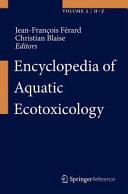 Encyclopedia of Aquatic Ecotoxicology Book