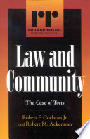Read Online Law and Community For Free