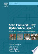 Solid Fuels and Heavy Hydrocarbon Liquids