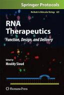 RNA Therapeutics Book