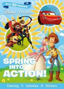 Disney Pixar Spring Into Action