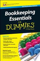 Bookkeeping Essentials For Dummies   Australia
