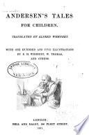 Andersen s Tales for Children