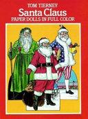 Santa Claus Paper Dolls in Full Color