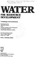 Water for Resource Development