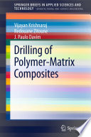 Drilling of Polymer Matrix Composites