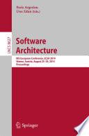 Software Architecture Book