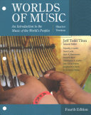 Worlds of Music  Shorter Version   Lms Integrated Mindtap Music  1 Term   6 Months Access Card