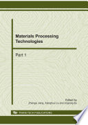 Materials Processing Technologies
